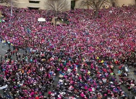 Crowd Scientists Say Women's March in Washington Had 3 Times More People Than Trump's Inauguration
