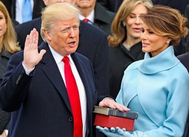 Trump inauguration ratings second biggest in 36 years