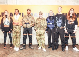 HERON PRESTON MAKES READY-TO-WEAR DEBUT AT PARIS MEN'S FASHION WEEK