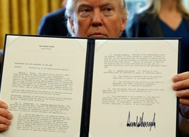 The 10 executive actions Trump has signed (so far)