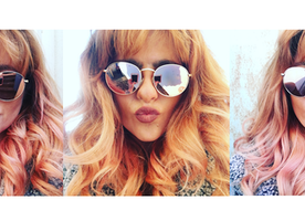Blorange Is The New Black: Here's How To Get The Hair Color Of The Year