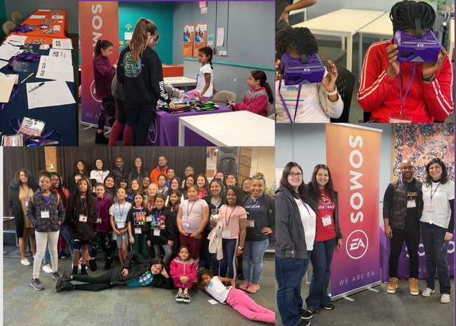 SOMOS EA members volunteered at VR Chica Conference in San Francisco!