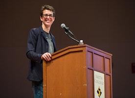 Rachel Maddow Addresses the 2016 Election
