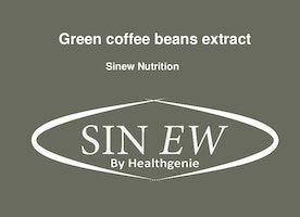 Sinew green coffee beans extract