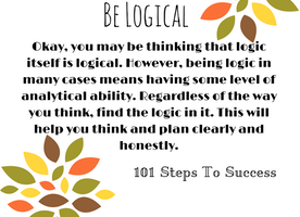 Be Logical