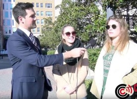 VIDEO: Students say border wall is racist