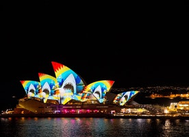 Explore Sydney at its 'Vivid' Best
