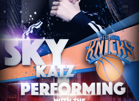 Sky Katz to Perform LIVE  at Madison Square Garden During  New York Knicks V.S. Phoenix Suns Saturday, January 21st