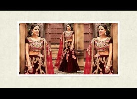 Wedding Embroidered Lehengas & Bridal Lehengas Designs Online By Designersandyou