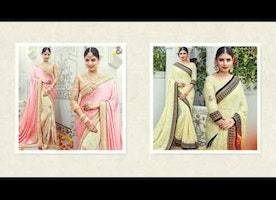 Best Indian Wedding Saree Design | Half Saree Blouse Design | Designersandyou