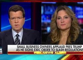 Small business owner salutes Trump push to slash regulations