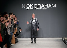 "Nick Graham Presented His ""Life on Mars F/W 2035"" Space-Themed Collection During NYFW/Men's"