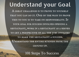 Understand your Goal