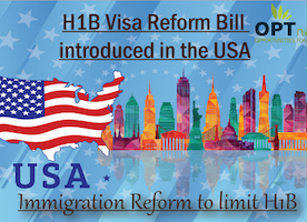 H1B Reform Bill introduced in USA | Trump on H1B Visa Policy