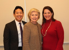 Secretary Clinton's Spiritual Support Team