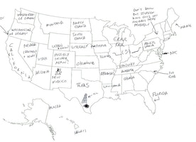 They Asked Britain to Label the United States, and the Results Are Hilarious.