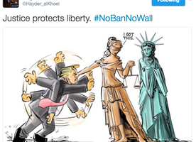 Lady Justice and Lady Liberty
