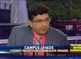 Dinesh D'Souza: Milo Protests Expose 'Terrorist Element' on US Campuses