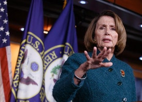 Nancy Pelosi says she can't work with 'President Bush'