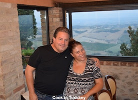 2 great people in Montefollonico