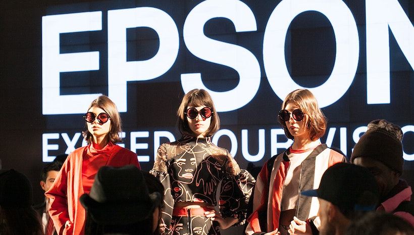"Epson ""Digital Couture"" Showcases Innovations in Fashion and Technology During #NYFW"