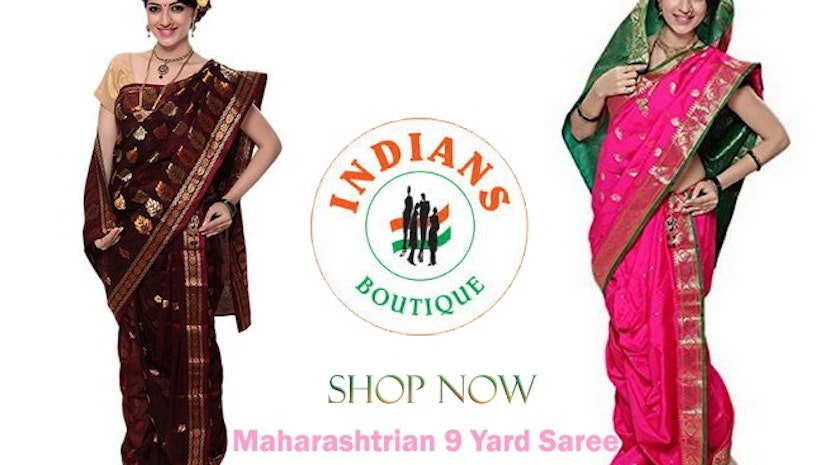 9 yard saree