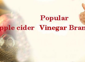 Popular Apple cider Vinegar Brand in India