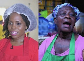 The businesswomen in Nigeria making money out of moi moi - BBC News