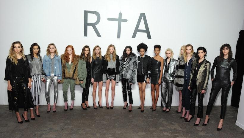 RtA Celebrates Fall/Winter 2017 Presentation At New York Fashion Week