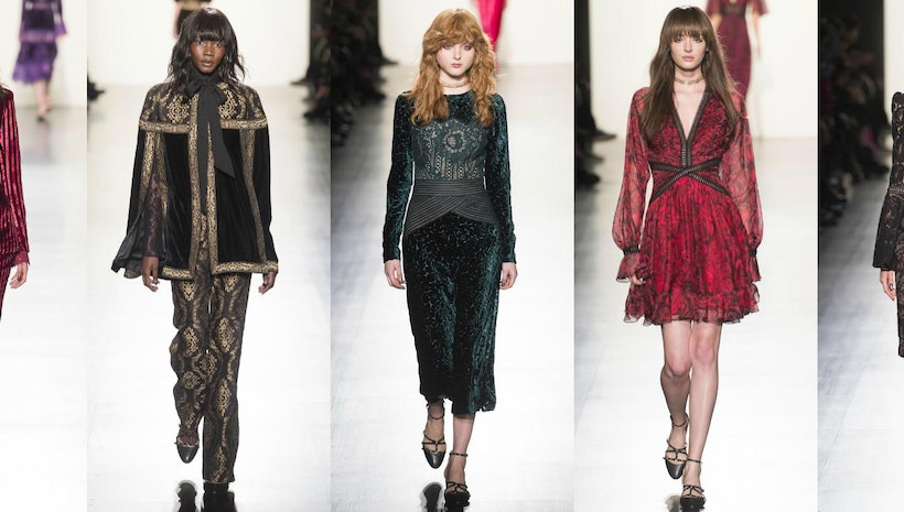 Tadashi Shoji Present His Fall/Winter 2017 Collection At NYFW