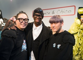 Laurence & Chico Presented Their FW17 Collection During NYFW