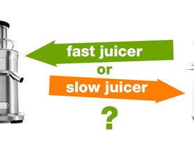 Slow juicer vs fast juicer - Which is better? - Kitchen Tool Expert