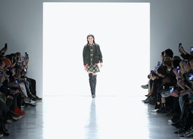 Marcel Ostertag Presents Fall/Winter 2017 Collection During NYFW