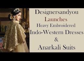 Indo western dresses for women | New designer Party wear outfits designs of 2017 | DesignersAndYou