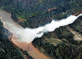 Oroville Dam flood danger recedes; state criticized for spending on rail, illegals