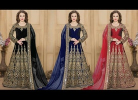 Party Wear Anarkali Suits Designs | Long Indian Designer Anarkalis Gown Dresses |Designersandyou