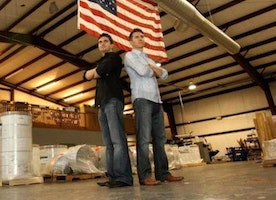 How 2 guys in their 20s turned an old printing press into a $25 million business