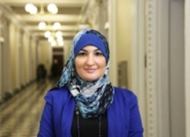 Sarsour Calls Trump, Netanyahu Two 'Bigoted Peas in a Hateful Pod'