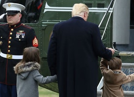 The Side of 'Grandpa' Trump in the White House You Have Never Seen Before