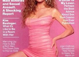 Kim Basinger's 1991 Cosmo Cover