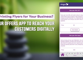 Still Printing Flyers for Your Business? Try Our Offers App to Reach Your Customers Digitally