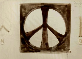 See the Original 1958 Sketches for the Peace Symbol