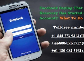 Facebook Saying That Account Recovery Has Started On My Account!! What To Do Next??
