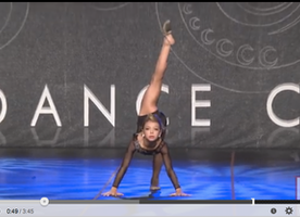 "9 Year-Old Blows World Away With Her Lyrical Dance to ""Hallelujah"""