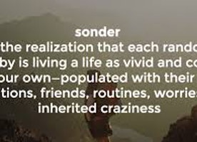 About a Sonder... #Thisislove