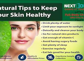 13 Easy Tips for Healthy Skin by NextDoorLab