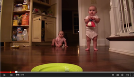 Twin Babies Love To Eat  Marshmallows