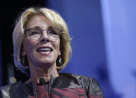 DeVos defiant at CPAC: 'My job isn't to win a popularity contest'