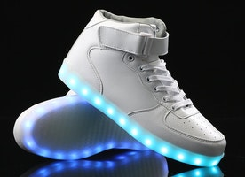 How To Clean Your Cheap Neon LED Shoes
