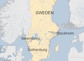 Swedish asylum shelter in Vanersborg hit by blaze - BBC News